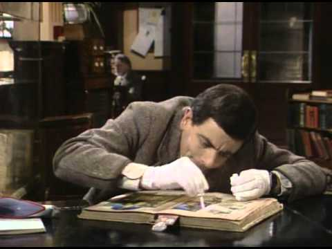 Mr.Bean The Library (مترجم)
