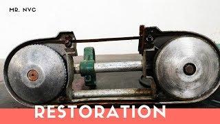 Very Old Band Saw Restoration (Kosoku HRB 1250 Band Saw Japan)
