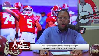 Charlie Strong, Taulia Tagovailoa: In My Own Words LIVE