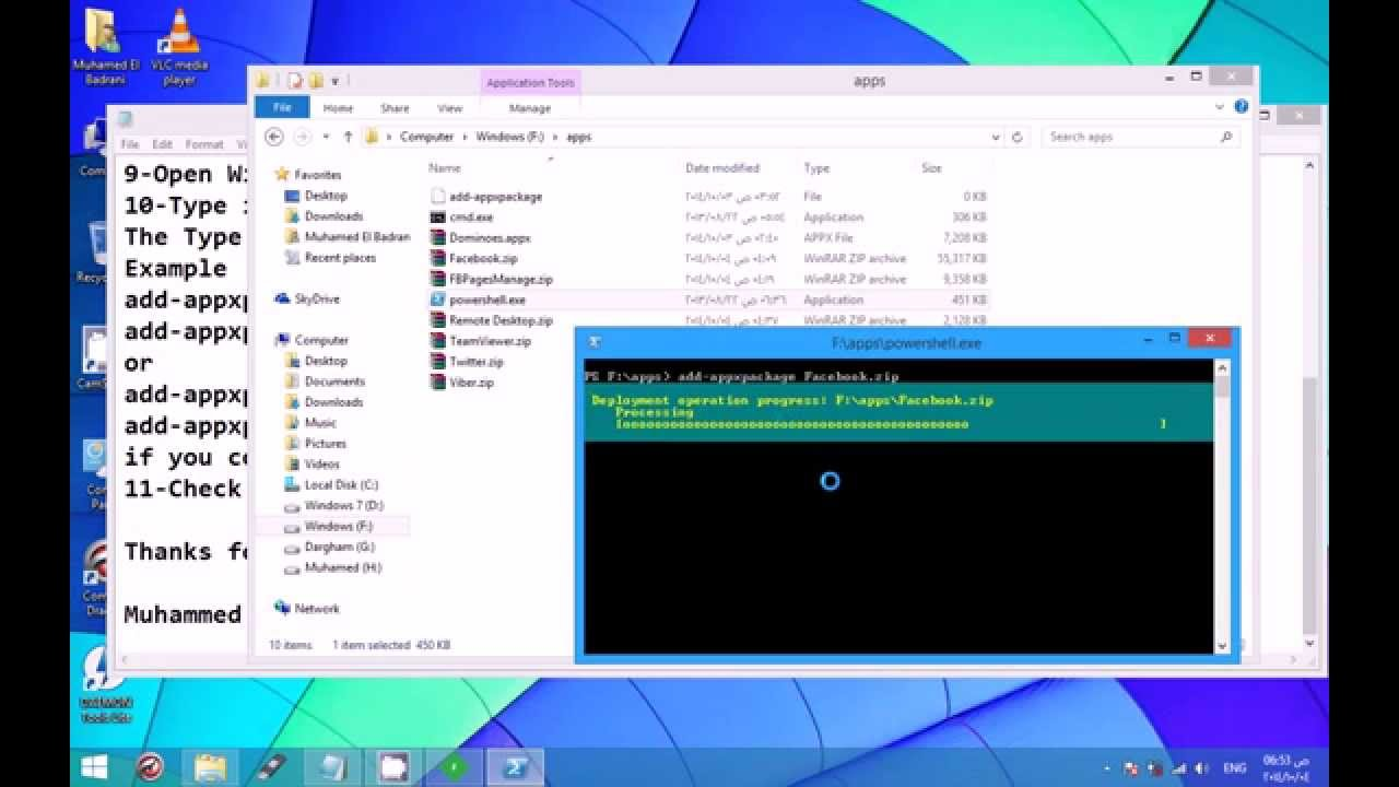 Download & Install Windows 8 Apps Without The Windows Store