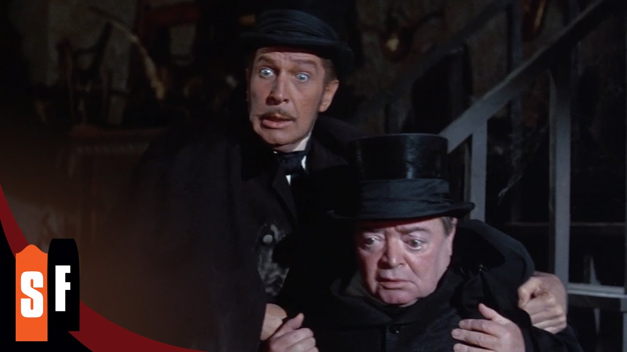 The Comedy of Terrors - Vincent Price (1/1) Not Quite Dead Enough (1963) HD