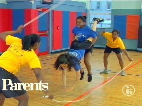 Double Dutch Jumping Routines | Parents