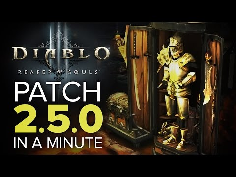 Diablo 3 - Patch 2.5.0 in a Minute