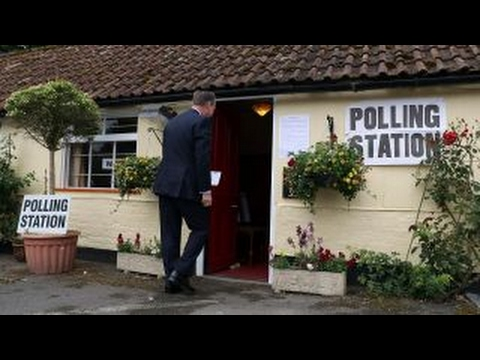 Voting under way for British general election