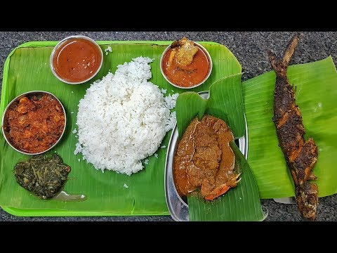 Fish Meals - Karuvaatu kuzhambu - Karunas Mess - Chennai