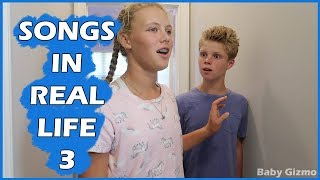 SONGS IN REAL LIFE 3 | Baby Gizmo | Ft. @The Savvy Life