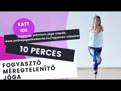 10 perces formába hozó fogyasztó, karcsúsító jóga program