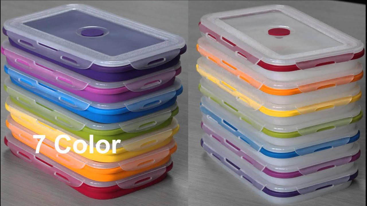 Silicone Foldable Storage Box