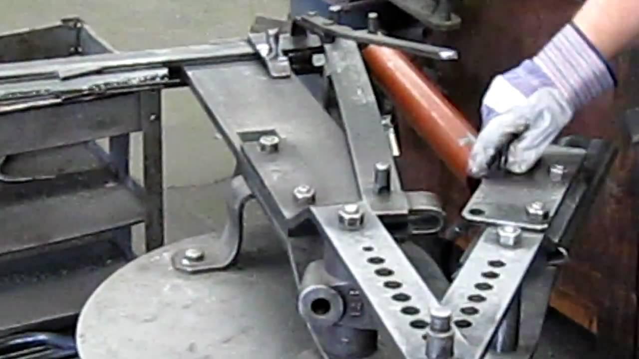 Hydraulic Hardware Set Up For Hossfeldtm No 2 Bender Youtube