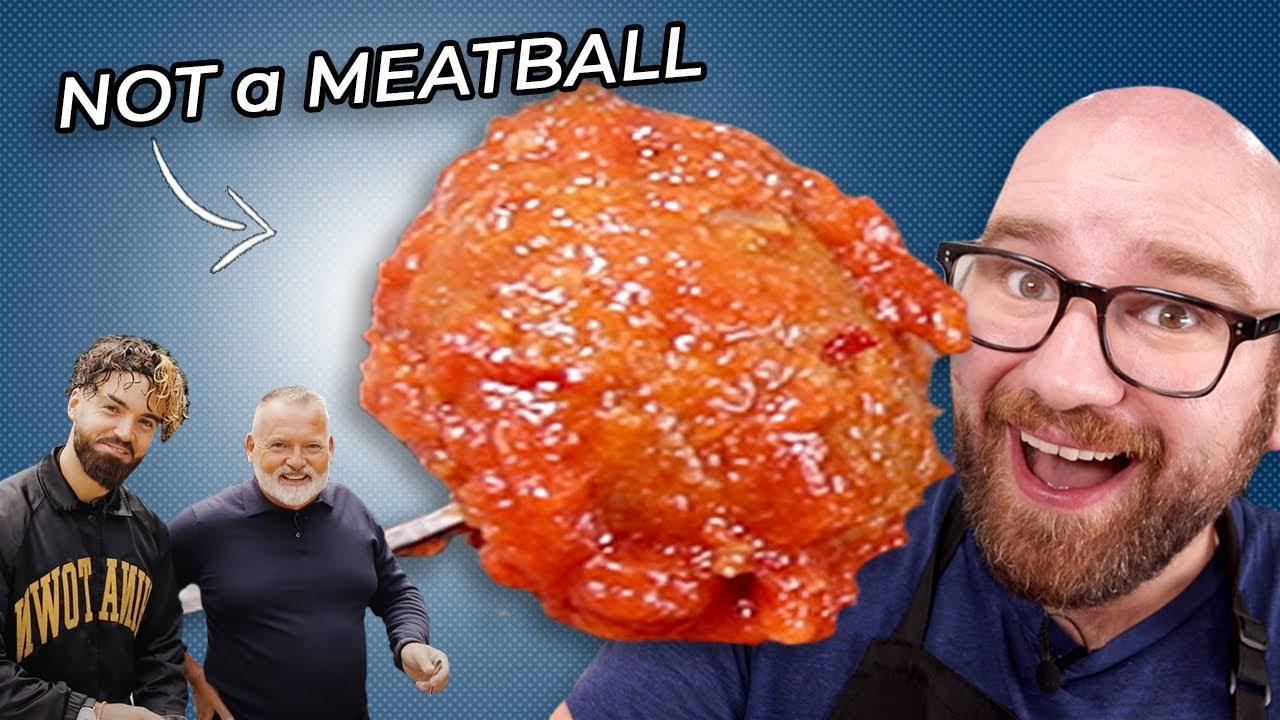 THE BEST ITALIAN MEATBALLS I've EVER Had... and they're VEGAN - Gaz Oakley's Meatballs