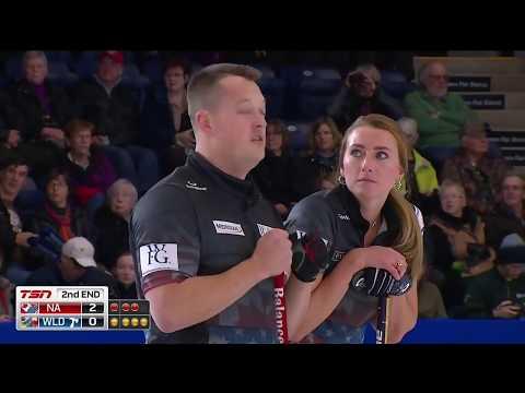 2018 World Financial Group Continental Cup of Curling - Sundgren/McManus vs. Miskew/Hebert