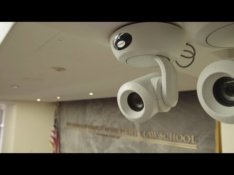 Vaddio PTZ Cameras Make the Grade for Lecture Capture at GW Law