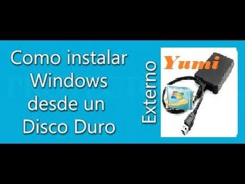 Cómo crear un disco duro externo booteable (multiboot) linux o windows