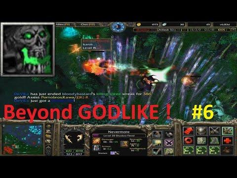 DotA 6.83d - Nevermore, Shadow Fiend Beyond GODLIKE! #6