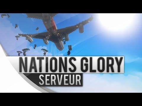 présentation du serveur nationsglory