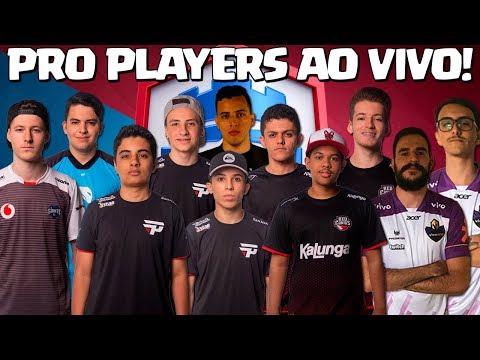 PRO PLAYERS DE CLASH ROYALE AO VIVO NO MÉXICO e YOUTUBERS NUM JANTAR MALUCO!!