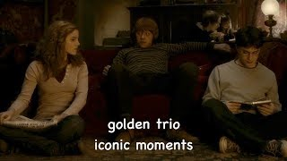golden trio: iconic moments