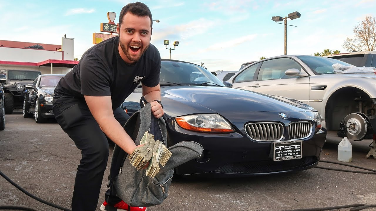 BUYING A BMW Z4 IN CASH - YouTube
