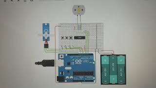 로봇자동화학과 dc모터 제어 실험 영상