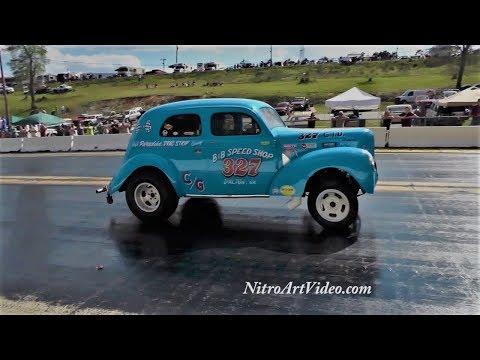 Southeast Gassers Association (SEGA) Drag Racing (NT) 2018 | OLD CAR