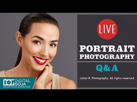 LIVE Photography Tips and Tricks I Portrait Photography Tips