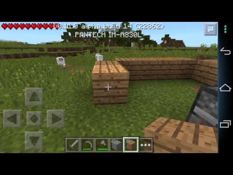 Minecraft PE Survival Tập 1: Làm lại từ đầu.
