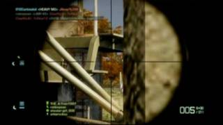 Battlefield Bad Company 2 - Shootergirl808 - Sniper Harassment