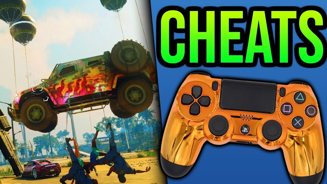 Just Cause 4 CHEATS Infinite Ammo Unlimited Health - Just Cause 4