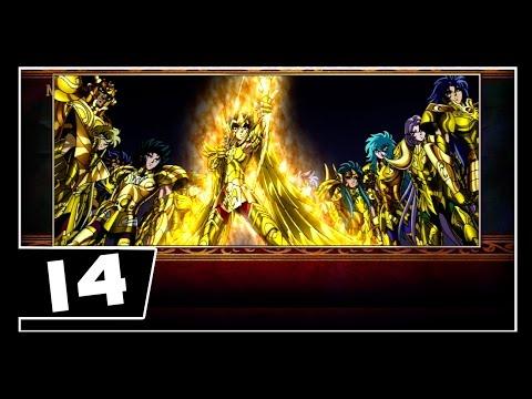 Os Cavaleiros Do Zodiaco - Bravo Soldados - Saga Hades - Parte 14 - ADEUS CAVALEIROS DE OURO