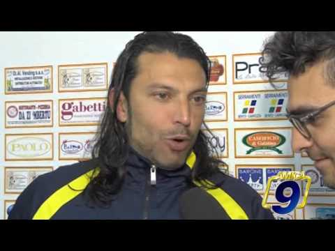 Gallipoli - Fidelis Andria 0-0 | Post Gara Benedetto Mangiapane Allenatore Gallipoli