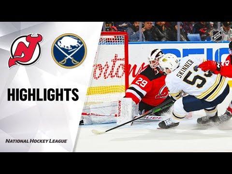 NHL Highlights   Devils @ Sabres 12/02/19