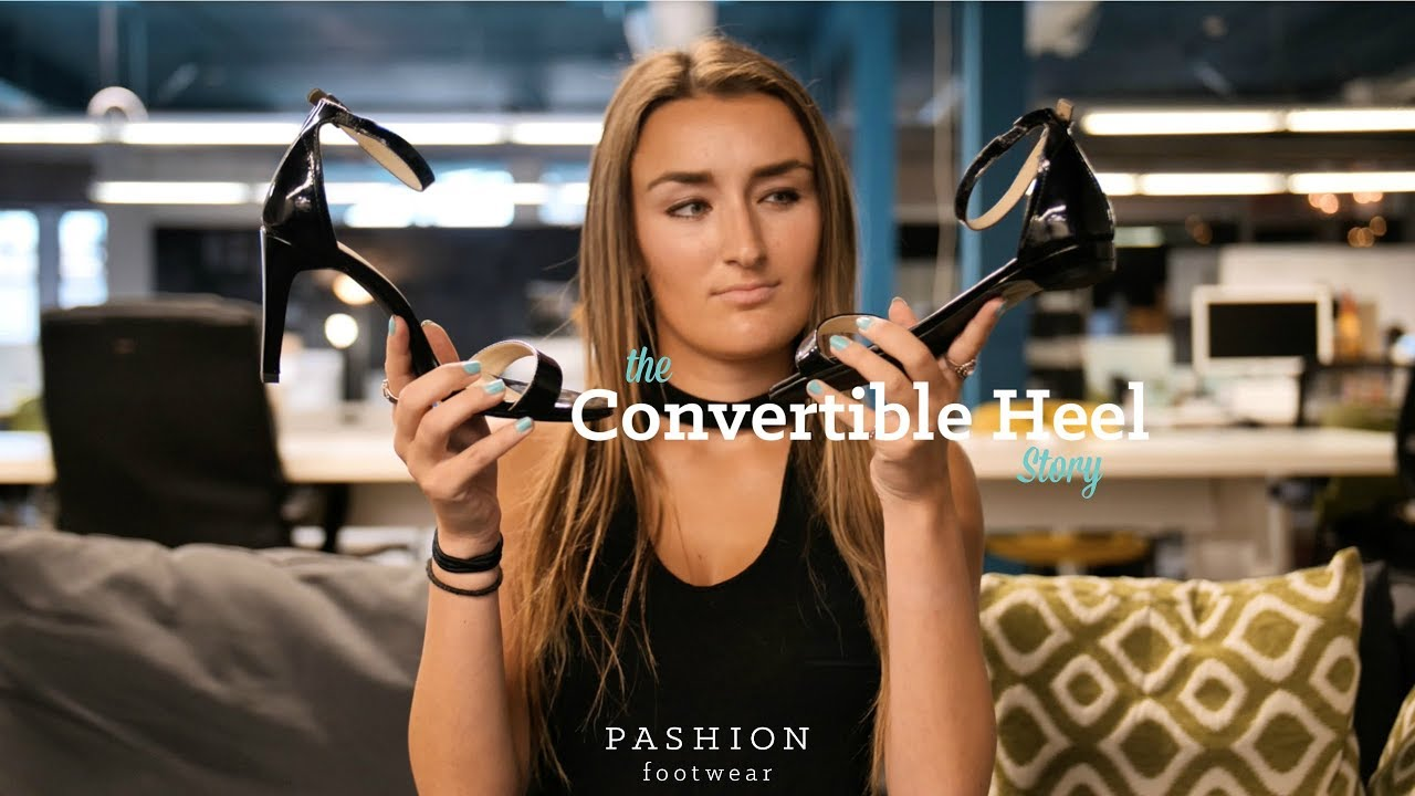 f60d4572cc52 The Convertible Heel Story  Pashion Footwear - YouTube