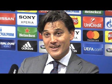 Manchester United 1-2 Sevilla - Vincenzo Montella Full Post Match Press Conference -Champions League