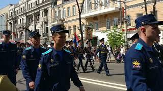 Воронеж 9 мая 2018 парад