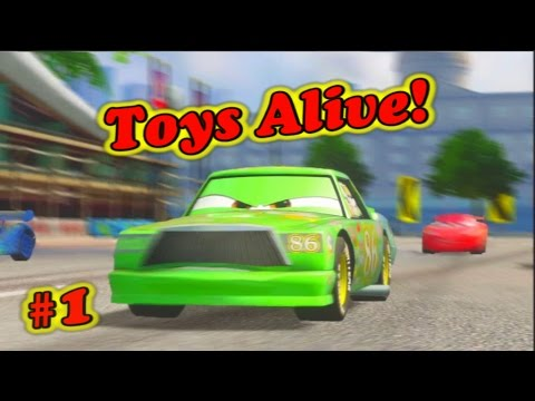 Cars 2 gameplay chick hicks training part 1 youtube - Coloriage cars chick hicks ...