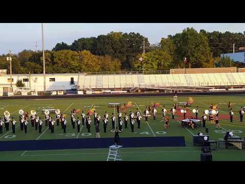 2017 Paul Laurence Dunbar Bulldog High School Marching Band - Lafayette Invitational