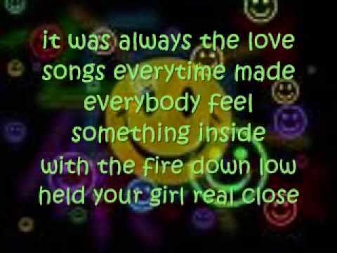Always The Love Songs--Eli Young Band [lyrics on screen]