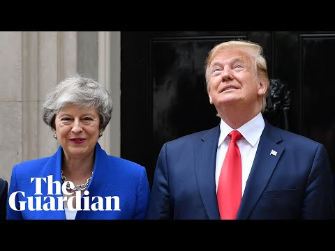 Donald Trump and Theresa May hold press conference - watch