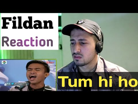 INDIAN REACTION ON Fildan Rahayu - Tum Hi Ho (D'Academy 4 - Audisi Makassar)