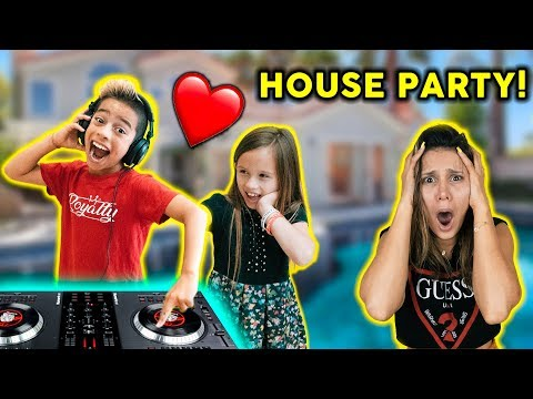 KIDS THROW CRAZY PARTY WITHOUT PARENTS PERMISSION! *Bad Idea*   The Royalty Family
