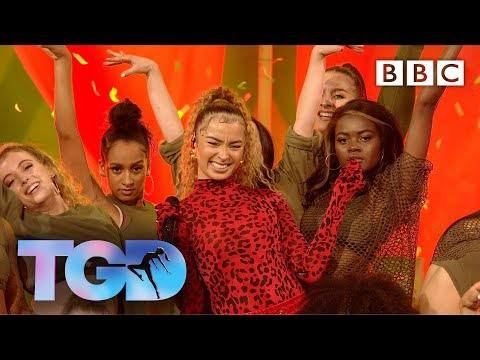 'New Me' Ella Eyre ft Sherrie Silver dance company - The Greatest Dancer - BBC