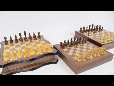Comparing Storage Chess Sets