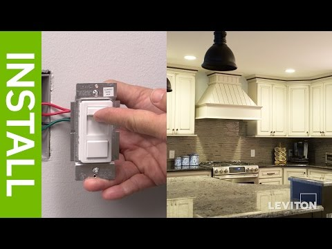 leviton-presents:-how-to-install-a-sureslide-6674-dimmer-and-a-illumatech-ipl06-dimmer