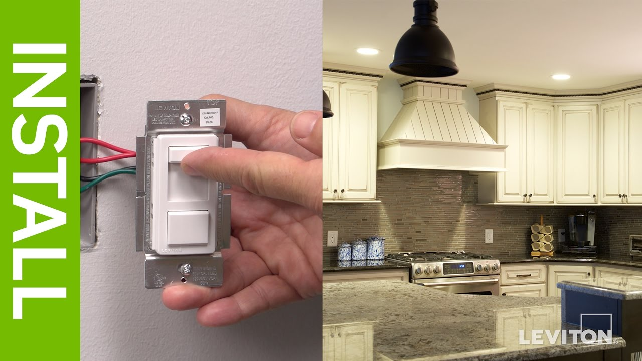 Leviton Presents: How to Install a SureSlide 6674 Dimmer and a ...