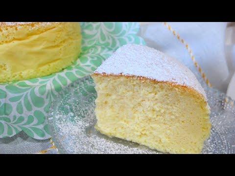 Tarta/ torta japonesa de queso SIN GLUTEN   Japanese cotton cheesecake