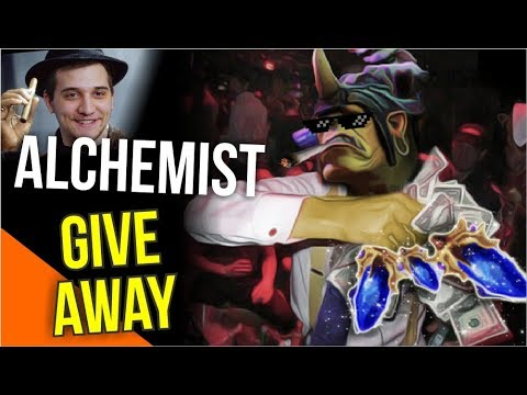 ALCHE GIVEAWAY - 5 Scepter for Teammate Arteezy Alchemist 7.