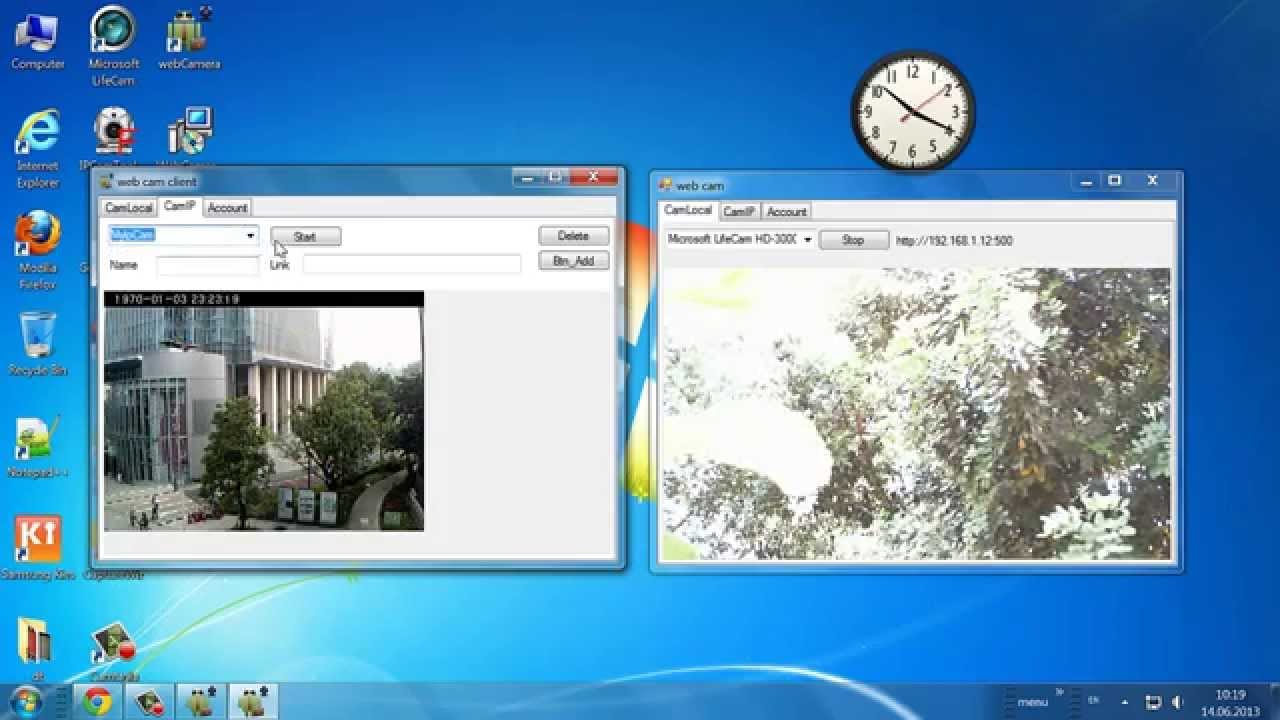 IP Web Camera , USB camera online internet Android client final PART 4