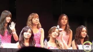 [HD.Fancam] 131025 Vizit Korea 2013 in SG - Press Conference