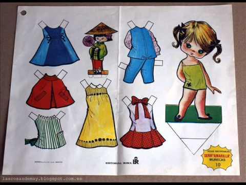 Muñecas Recortables Paper Dollswmv