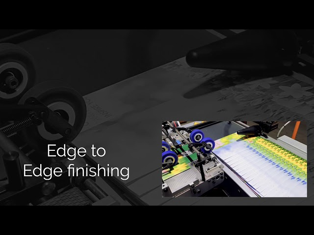 Edge to edge paperwrap finishing - CMS Central Mailing Services